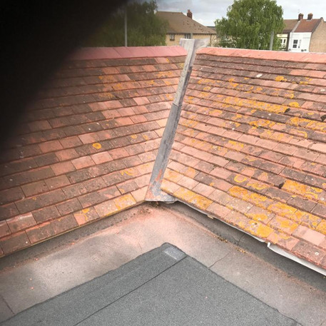 Large High Performance Torch on Flat Roofing System inclding Mansard Tile Detail