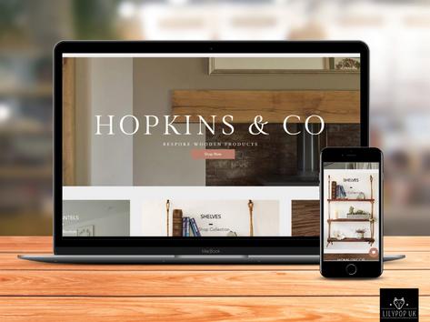 Coming Soon - Hopkins & Co