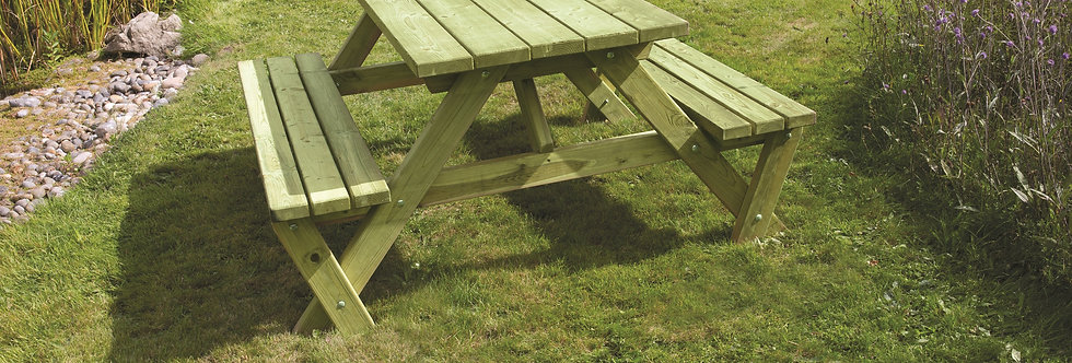 Heavy Duty 'A' Frame Picnic Bench