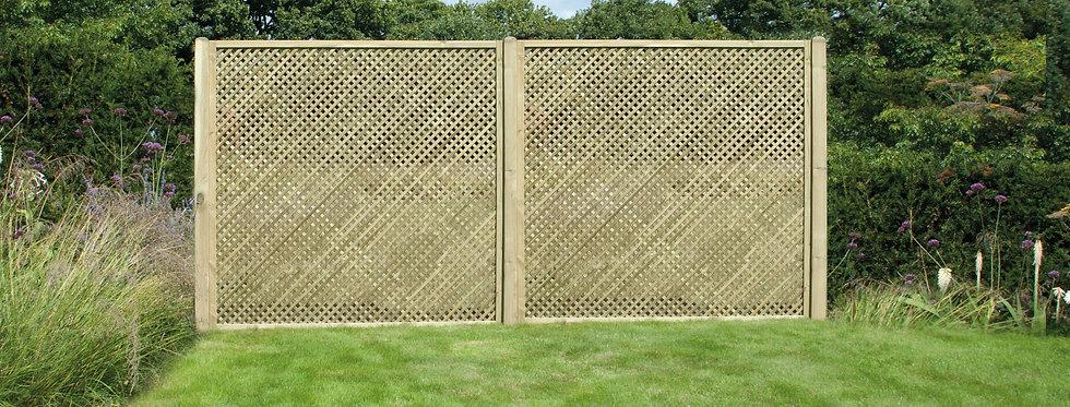 Privacy Lattice 180cm x 183 cm