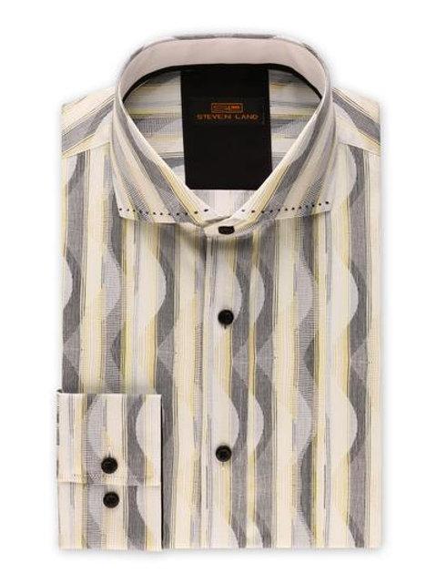 Steven Land Men's Dress Shirt