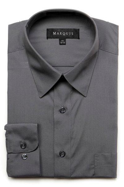 Marquis Slim Fit Shirt (Charcoal)