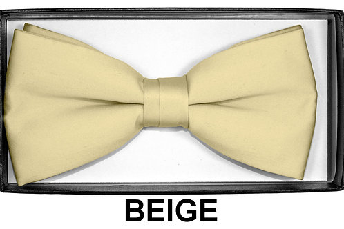 Bow Tie Beige
