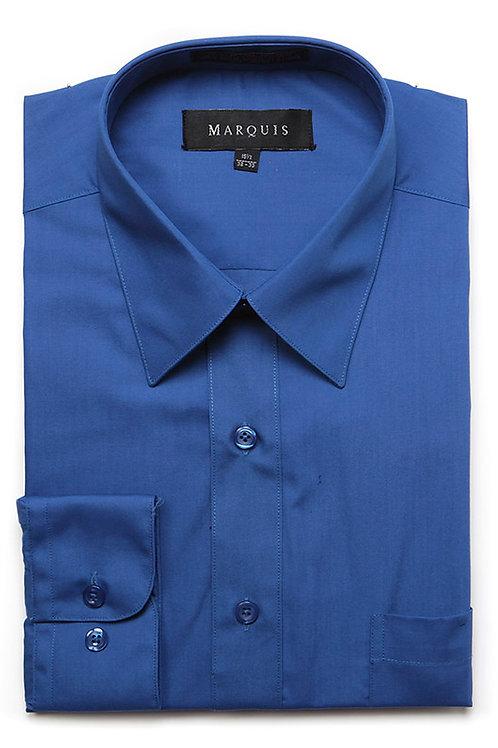 Marquis Slim Fit Shirt (Navy)