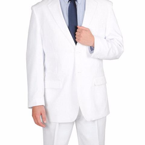 Men's Business Suit (White)