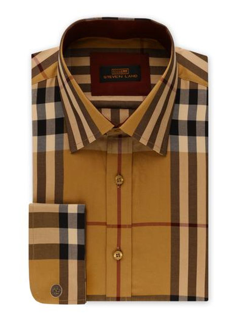 Steven Land Men's Dress Shirt