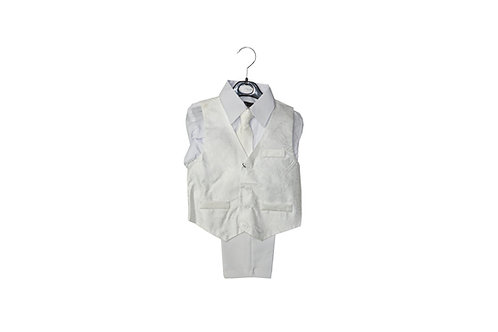 Boy's Fashion Vest Suit