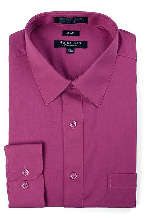 Marquis Slim Fit Shirt (Magenta)