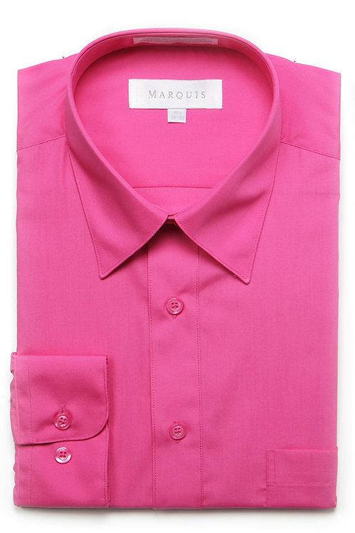 Marquis Slim Fit Shirt (Fuschia)