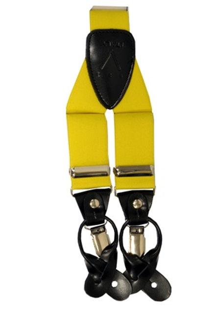 Men's  Suspender Y-Back Yellow