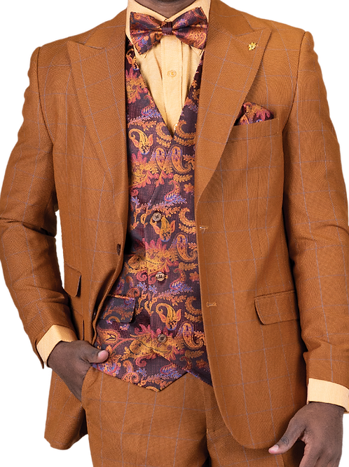 Falcone Men's Fashion Suit
