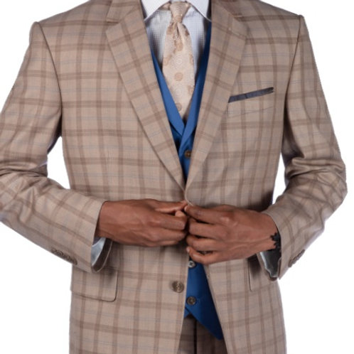 Steve Harvey Reserve Men's Fashion Suit