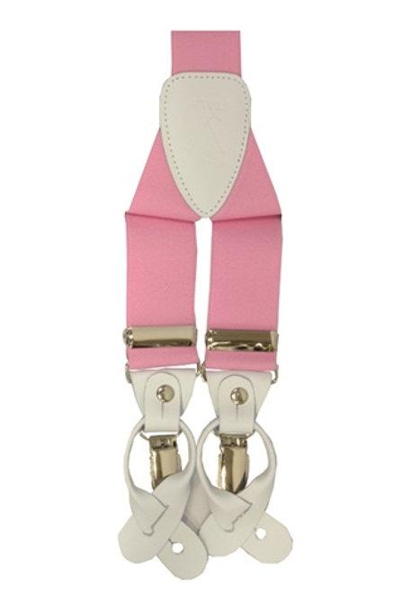 Men's  Suspender Y-Back Pink