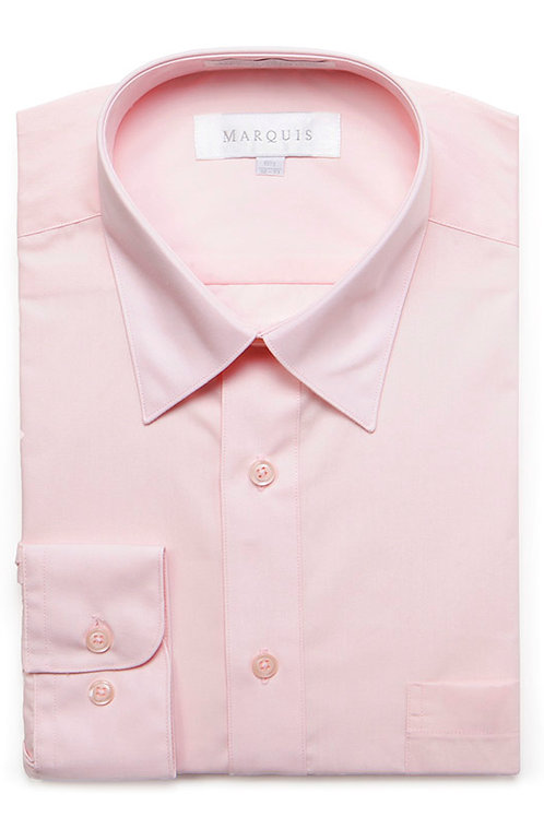 Marquis Slim Fit Shirt (Pink)