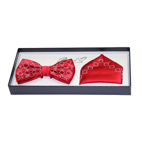 BrandQ Men's Fashion Bow Tie Set