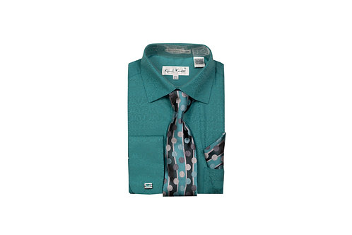 Men's Shirt & Tie Combo Shirt