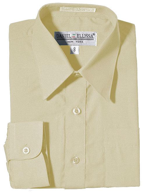 Daniel Ellissa Boy's Dress Shirt (Ivory)
