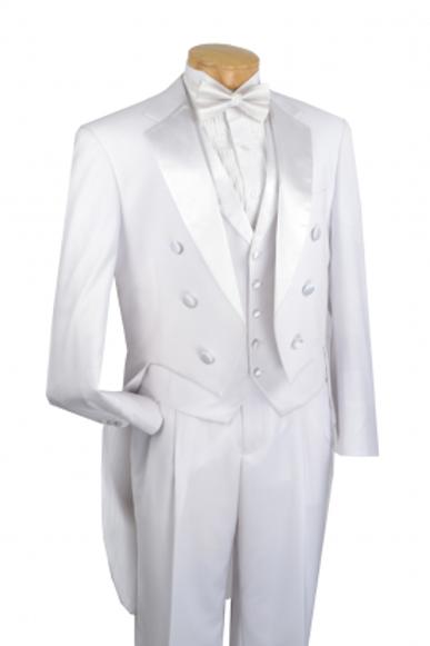 Fashion Tuxedo w/ Tail White