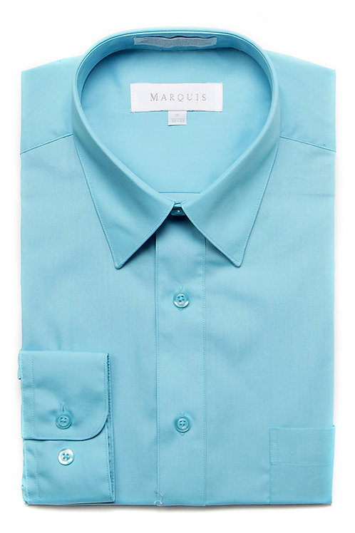 Marquis Slim Fit Shirt (Turquoise)