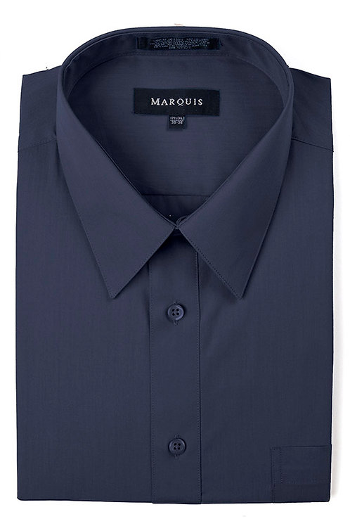 Marquis Slim Fit Shirt (Navy)