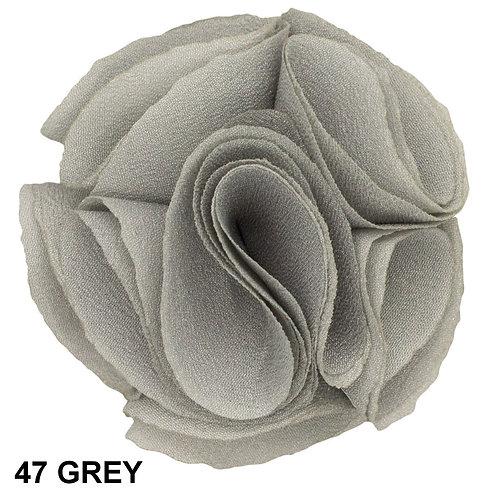 Lapel Rose (Grey)