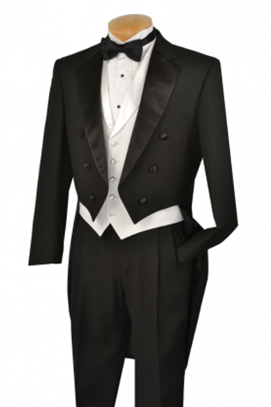 Fashion Tuxedo w/ Tail Black