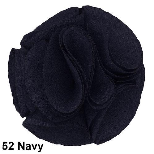 Lapel Rose (Navy)