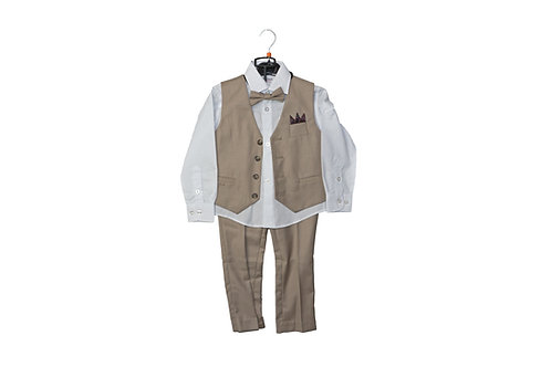 Boy's Fashion Vest Suit