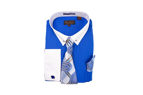 Bruno Conte Men's Combo Shirt