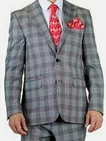 Falcone Men's 3 Piece Fashion Suit