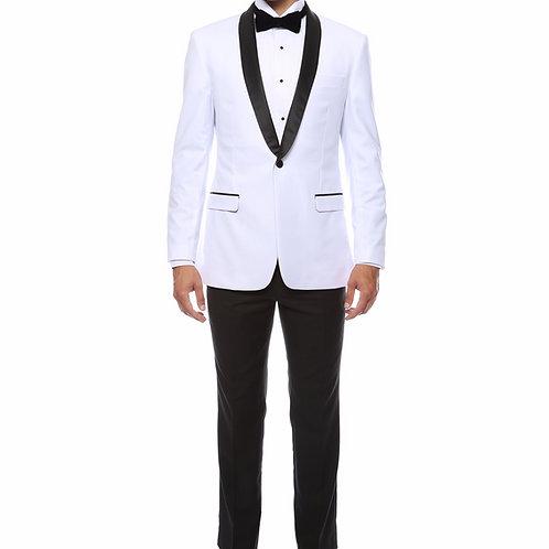 Zonettie by Ferrecci Fashion Tuxedo White