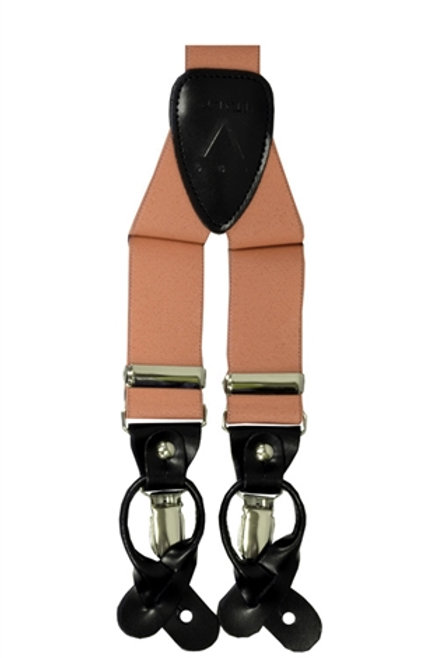 Men's  Suspender Y-Back Peach