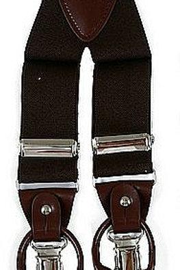 Men's Suspender Y-Back Brown