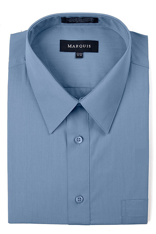 Marquis Slim Fit Shirt (Blue Steel)