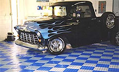 Gallant Garage Interlock Flooring truck
