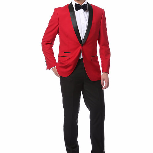 Zonettie by Ferrecci Fashion Tuxedo Red