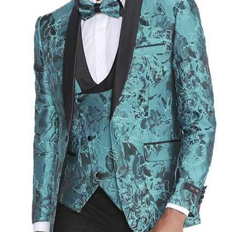 Tazzio Men's Fashion Suit