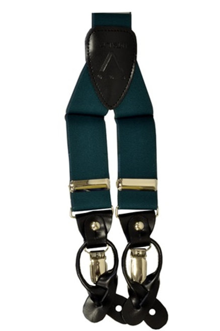 Men's  Suspender Y-Back Hunter Green