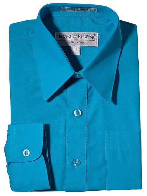 Daniel Ellissa Boy's Dress Shirt (Turquoise)