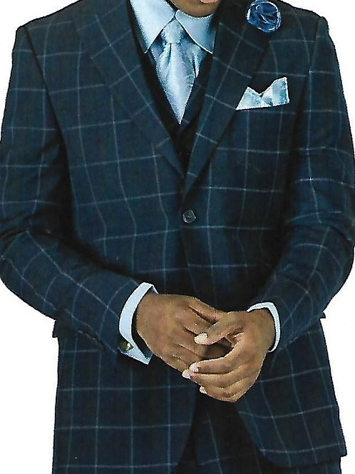 Stacy Adams Men's Fashion Suit