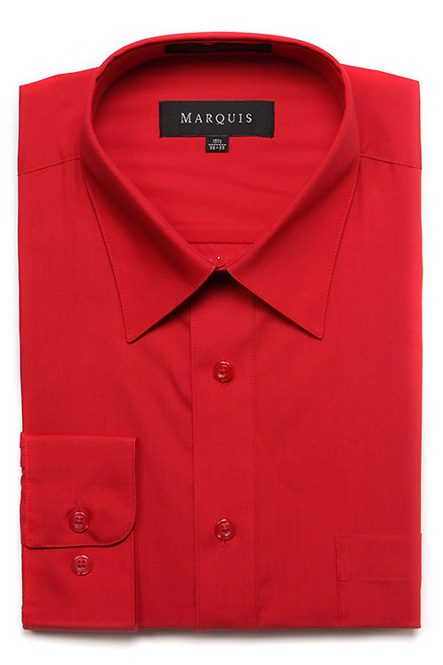 Marquis Slim Fit Shirt (Red)