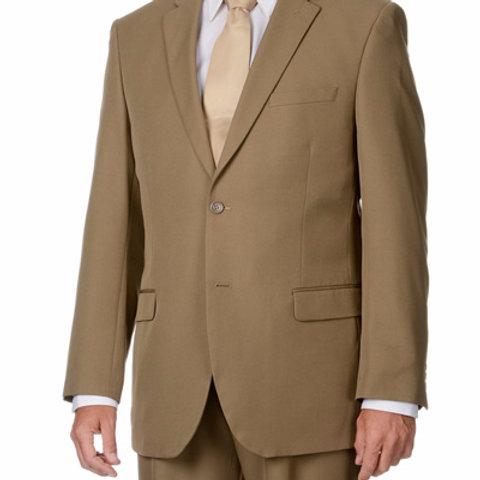 Men's Business Suit (Tan)