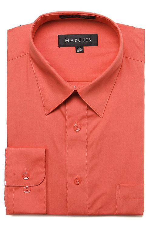 Marquis Slim Fit Shirt (Smoked Salmon)