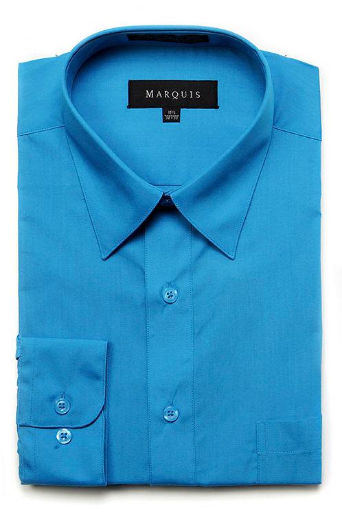 Marquis Slim Fit Shirt (Caribbean Blue)