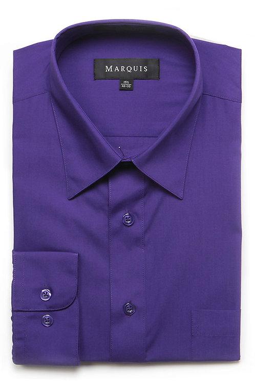 Marquis Slim Fit Shirt (Purple)