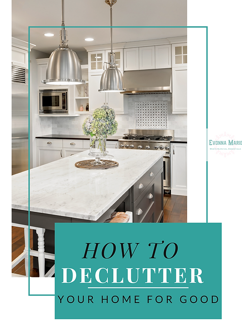 Declutter your Home for Good