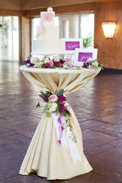 Beautiful Cocktail Tables for Weddings