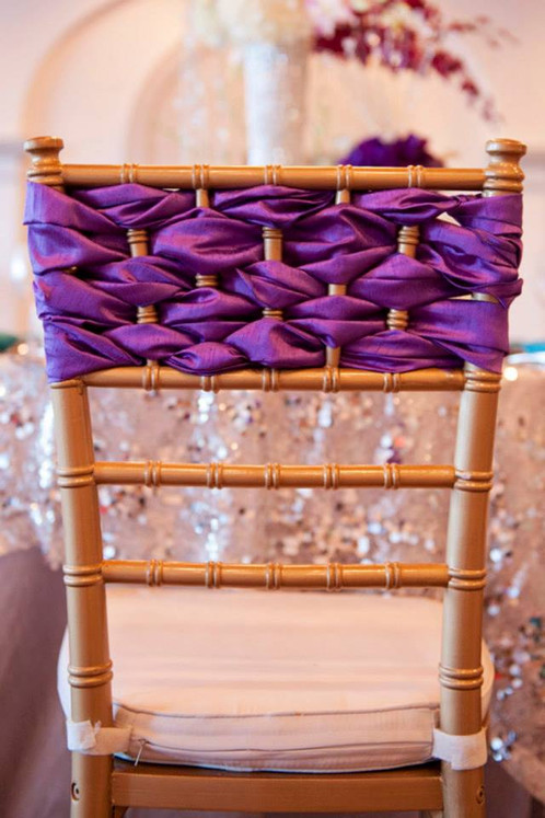 16 Dreamy Chiavari Chair Decorations that will Make you Swoon
