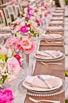 Elegance in Blush and Beige available at Taylor Rental of Manchester and West Hartford