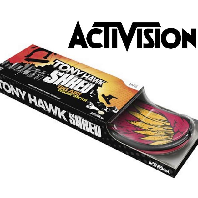 Activision Tony Hawk Shred Board